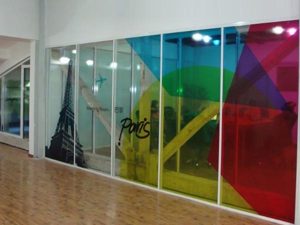 Digital Printing In Interiors Doors Amp Privacy Screens