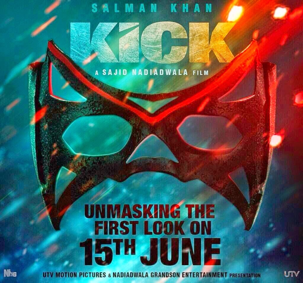 Salman Khan - First Look Poster of Kick Movie 2014
