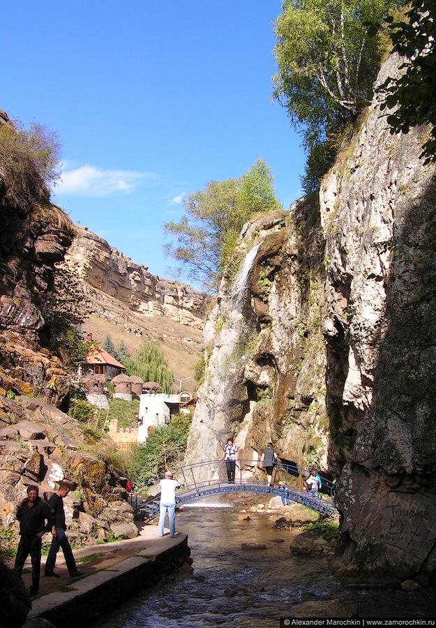 Река Аликоновка, Медовые водопады