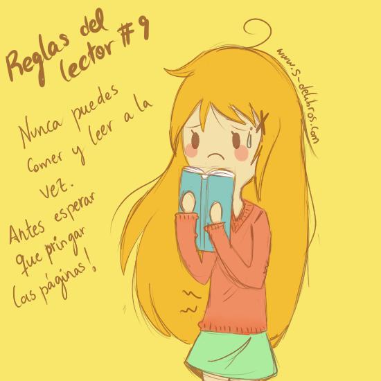 Regla del lector #9