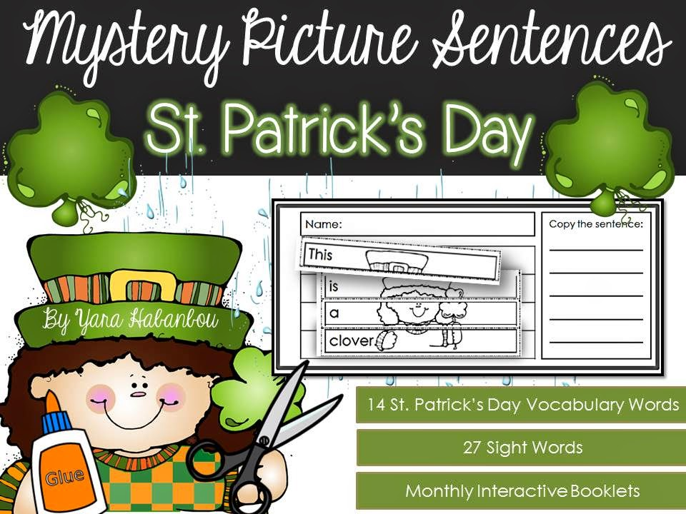 https://www.teacherspayteachers.com/Product/Interactive-Activity-Booklets-Mystery-Picture-Sentences-St-Patricks-Day-1718970