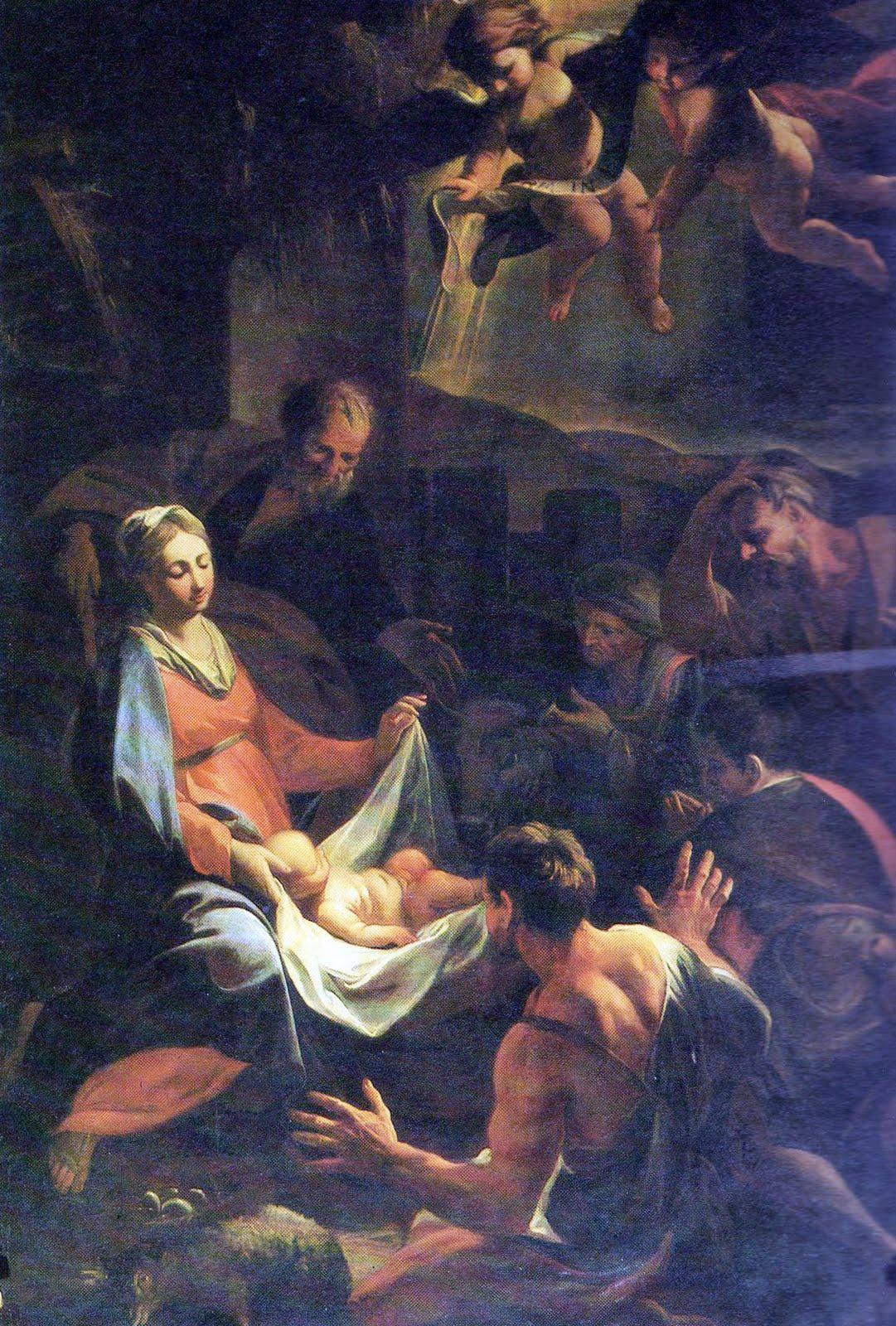 Adorazione dei pastori: dipinto di Padre Andrea Pozzo.