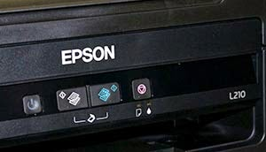epson l210 all lights keep blinking