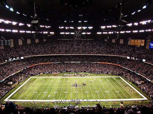 Super bowl luxury suites for Mercedes benz superdome club level seating