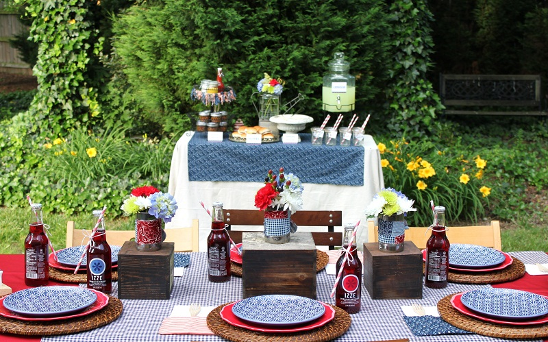 Backyard Bbq Decoration Ideas diy backyard bbq wedding reception Baby Showers Bbq Vintage Th Of July Bbq And Shortcake Buffet Events By Shelbi Rene