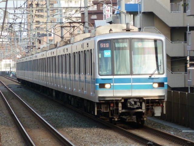 東京メトロ東西線 中野行き1 05系LED