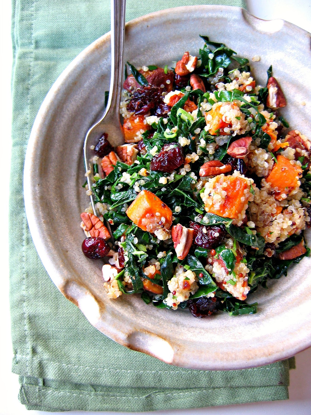 The Bojon Gourmet: Quinoa, Kale and Sweet Potato Salad