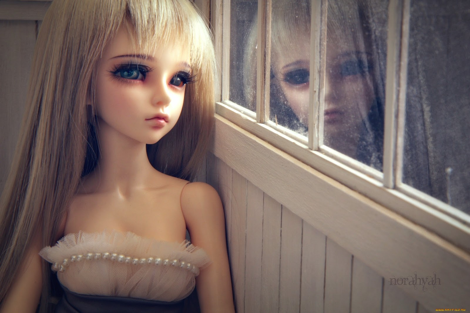 Как сделать слезы на глазах у куклы