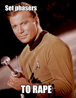 set phasers to rape funny star trek