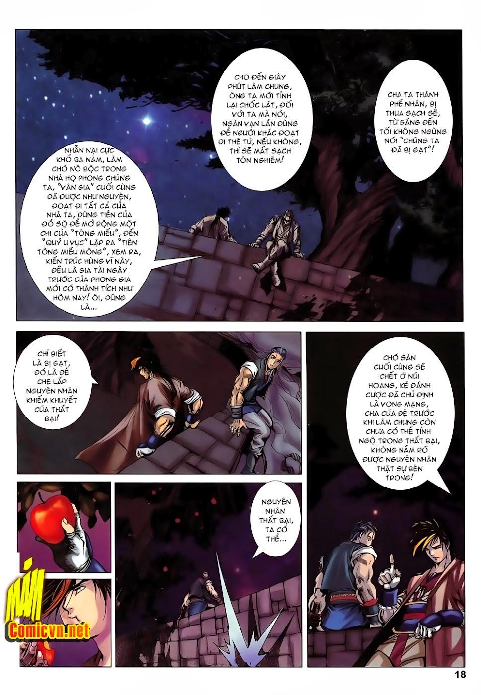 Lục Đạo Thiên Thư chap 14 - Trang 18