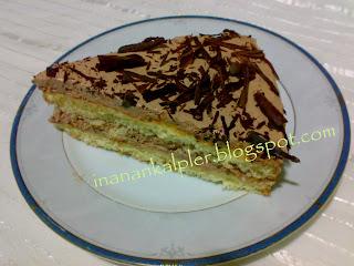 Çocuklarınızın severek yiyecekleri ve krema sürmeden de yenen yumuşak bir kektir .Sabah yapıp akşam ikram edebilirsiniz.