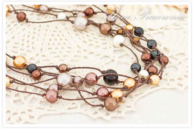 perełki, korale z pereł, biżuteria autorska, biżuteria ręcznie robiona