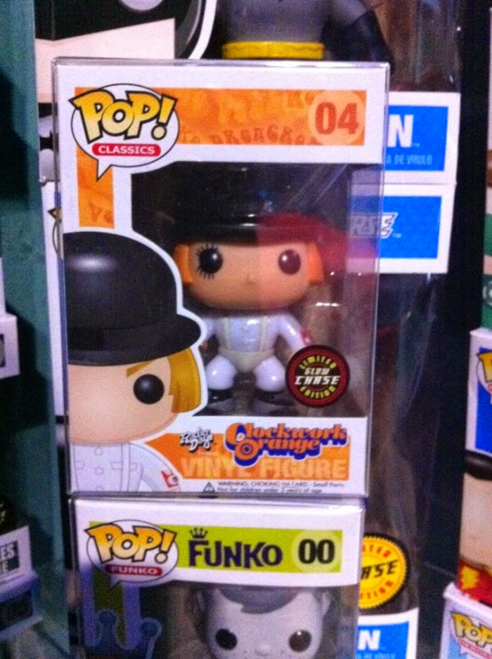Funko Pop! Clockwork Orange CHASE GITD
