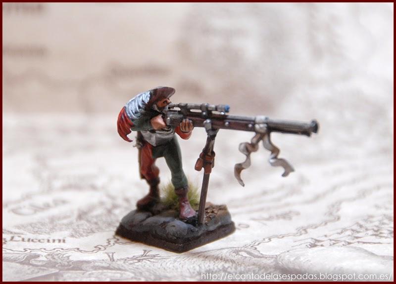 El Canto de las Espadas Miniatures. Tirador-rifle-largo-hocland-arcabuceros-imperiales-hochland-warhammer-1