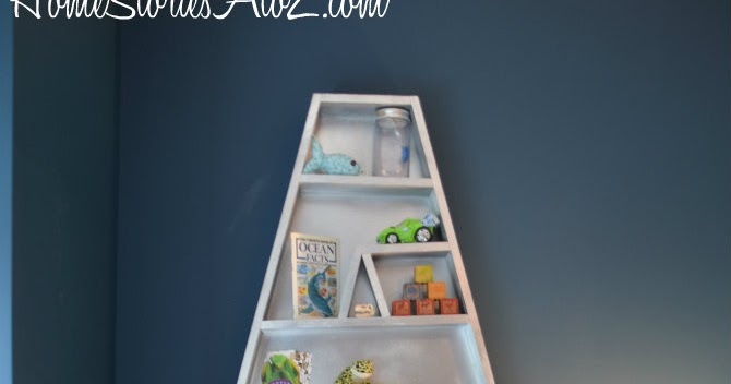 act normal diy letter bookshelves letter a