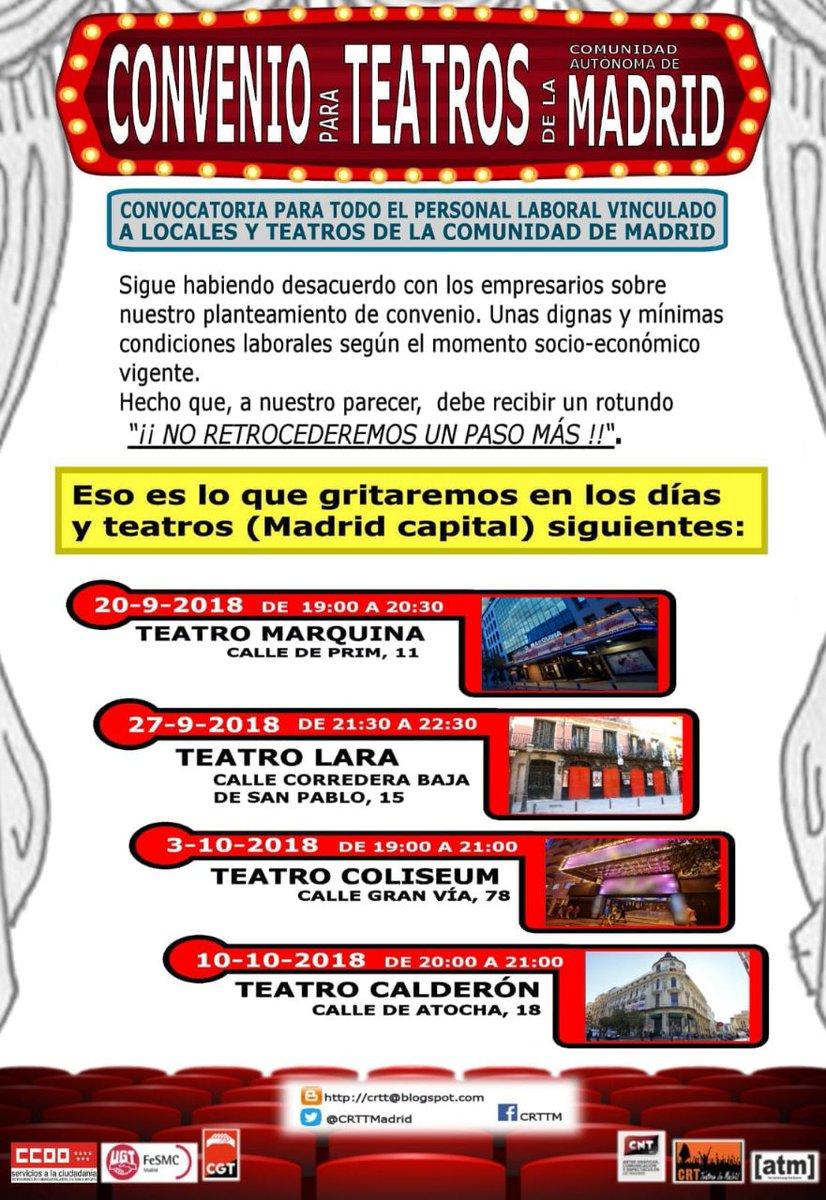 Madrid  Teatros en Lucha