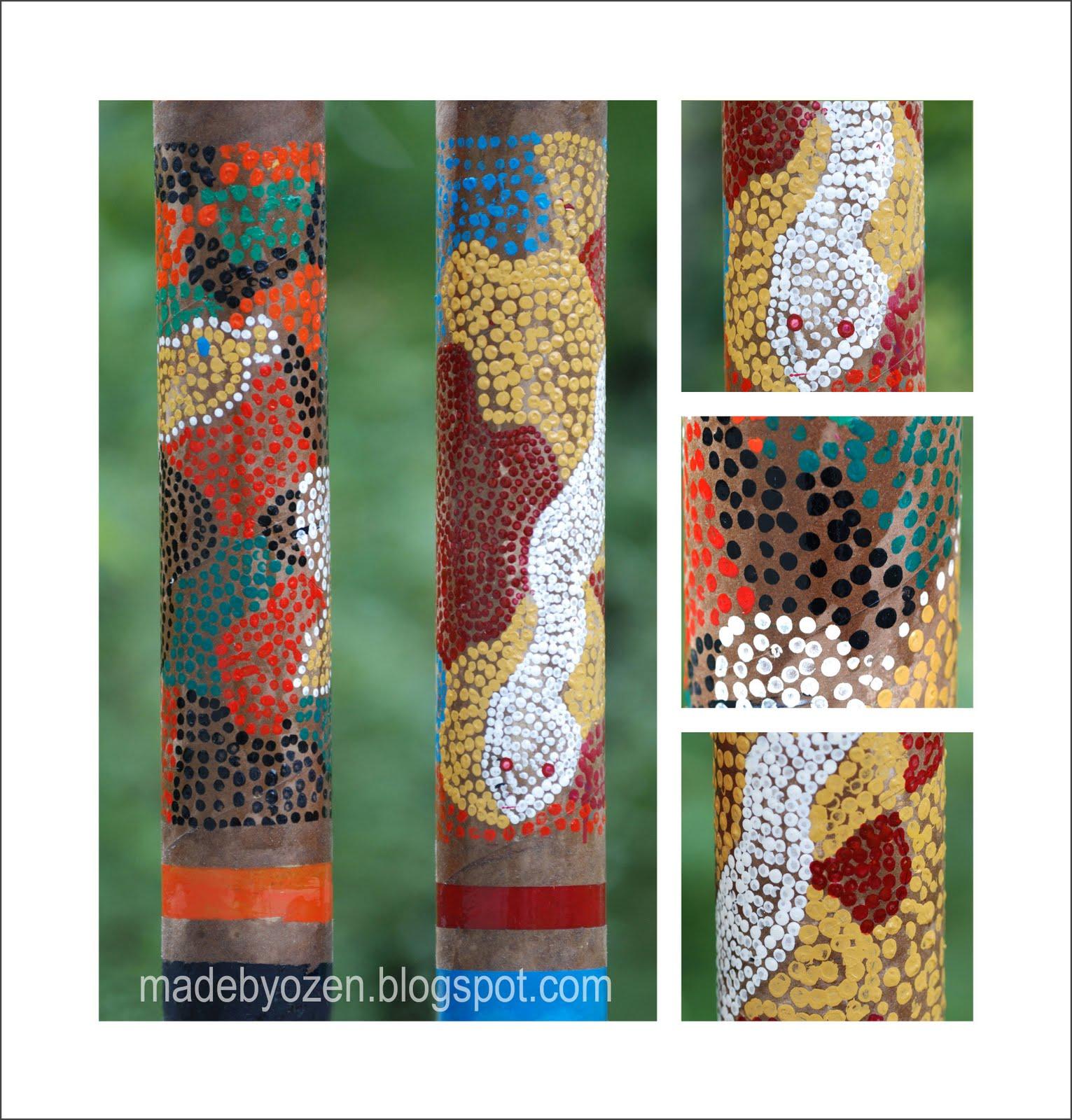 Made by ozen b tons de pluie for Decoration baton de pluie