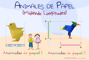 Animales de papel...
