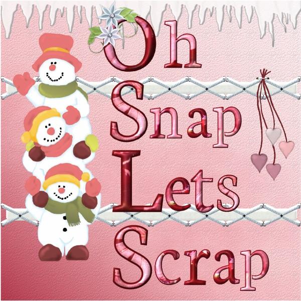 Jan. 2016 - Oh Snap , let's Scrap !