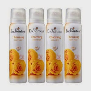 Bodymist Enchanteur Charming 75Ml pack of 4 at Rs.167 at Snapdeal