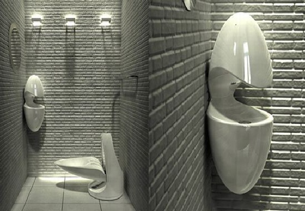 Bathroom toilet designs for Small wc design