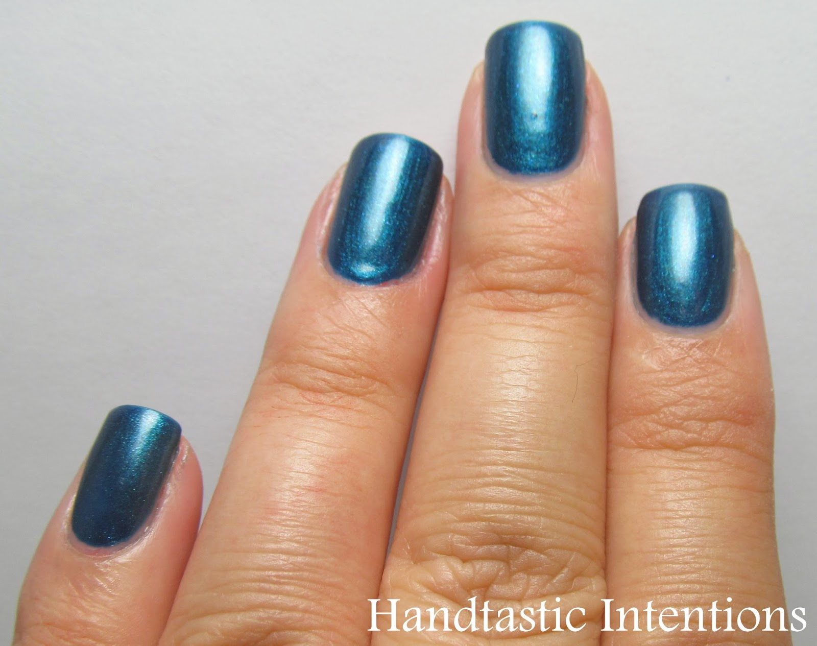 Handtastic Intentions Swatch And Review Of Opi Yodel Me