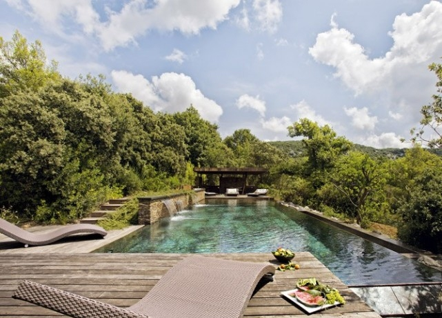 the chic french swimming pool family dream home