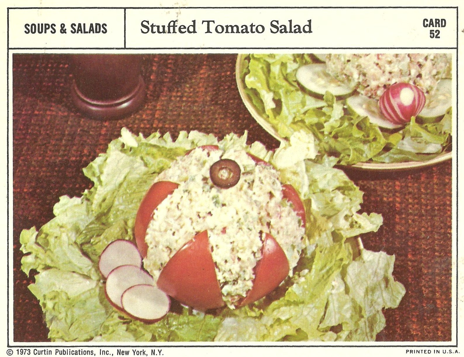 bad and ugly of retro food 1970 u0027s finest recipe cards 17