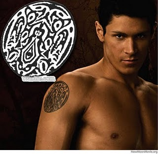 Celtic Style Tattoo on Male Arms