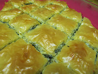 greek spinach and feta pie - spanakopita - DONE