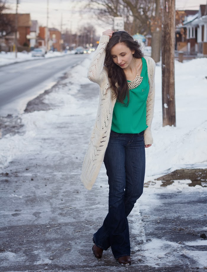 long-cardigan-bright-green-shirt