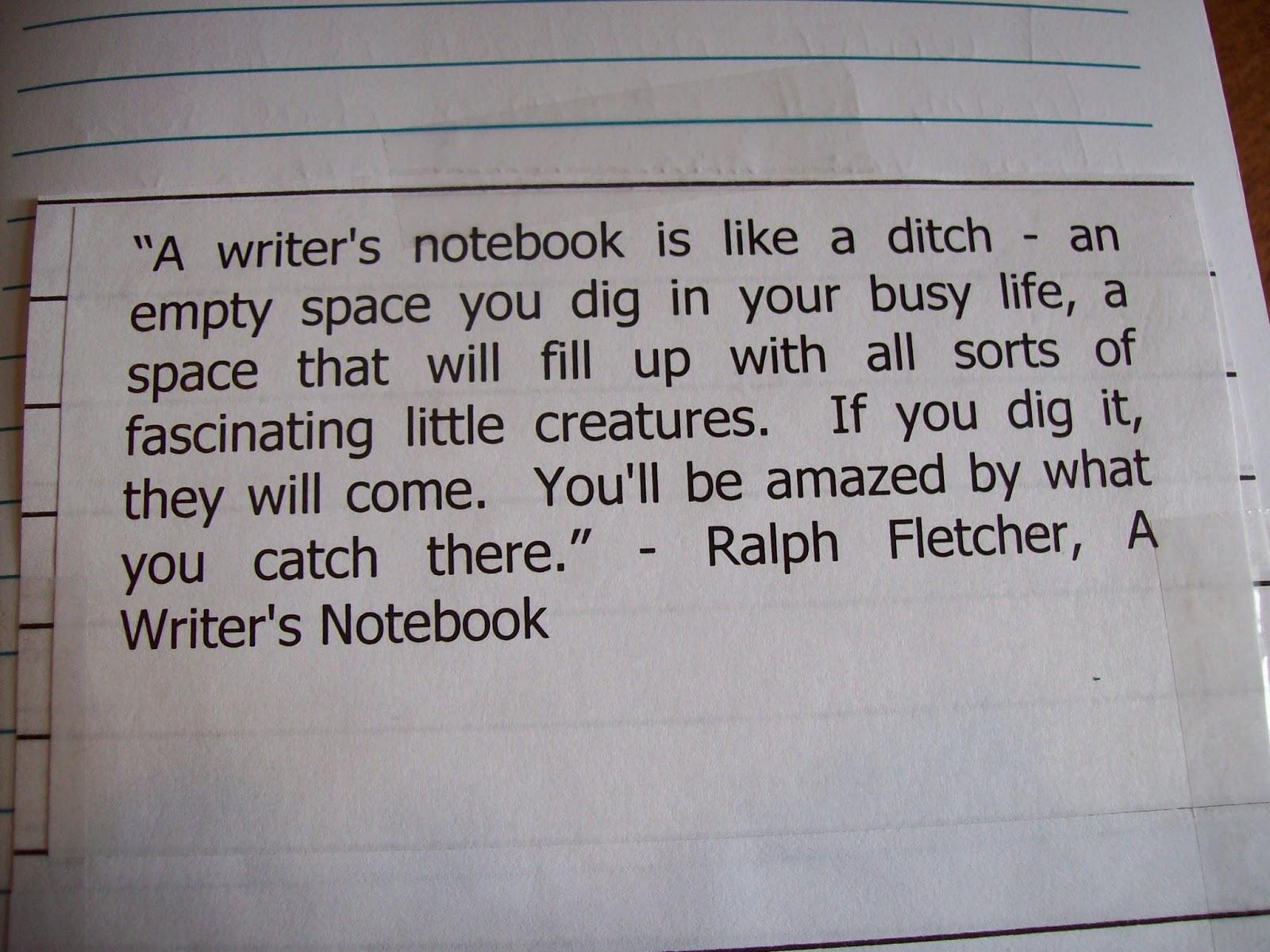 Ralph Fletcher Quotes Quotesgram border=