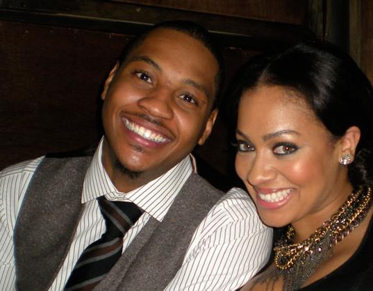 Carmelo Anthony And LaLa Vazquez Sign Up For A New Reality Show!