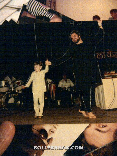 Neil dancing on stage - (5) -  Neil Nitin Mukesh childhood pics