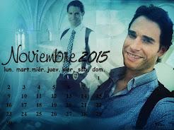 Calendario Mes noviembre  2015