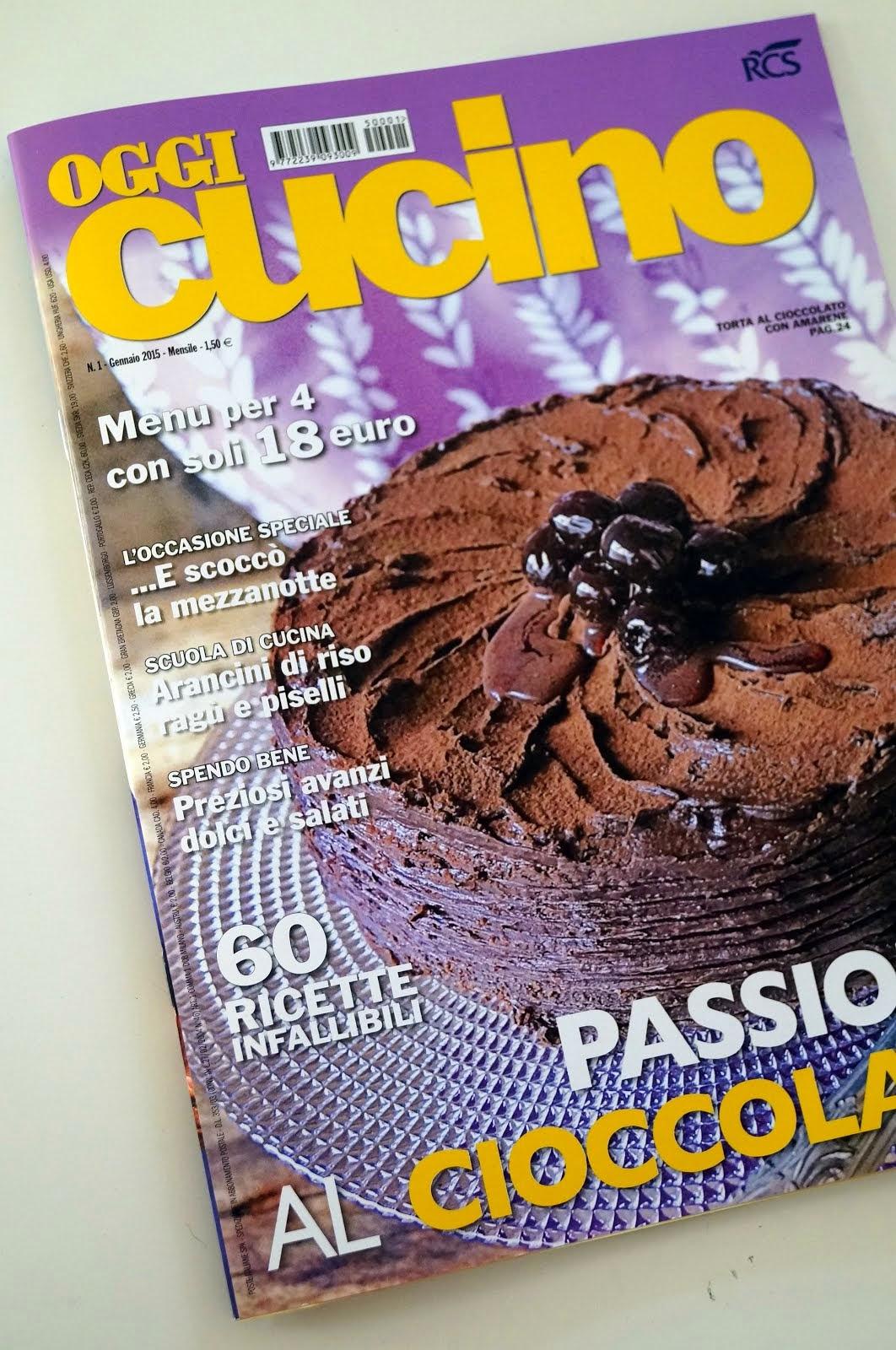 Le mie ricette su Oggi Cucino Magazine