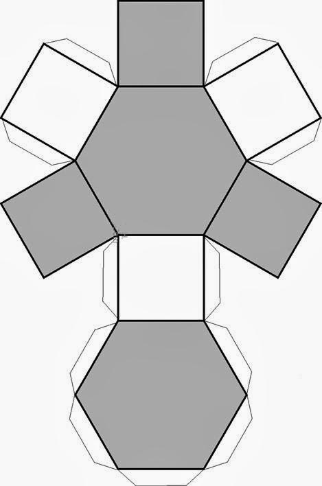 Figuras geometricas para imprimir y armar | Material para maestros ...