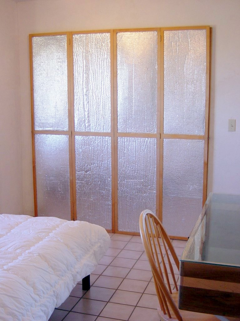 Build It Solar Blog Diy Insulating Window Or Door