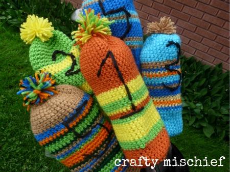 Crocheting Club : CROCHET PATTERNS GOLF CLUB COVERS FREE CROCHET PATTERNS