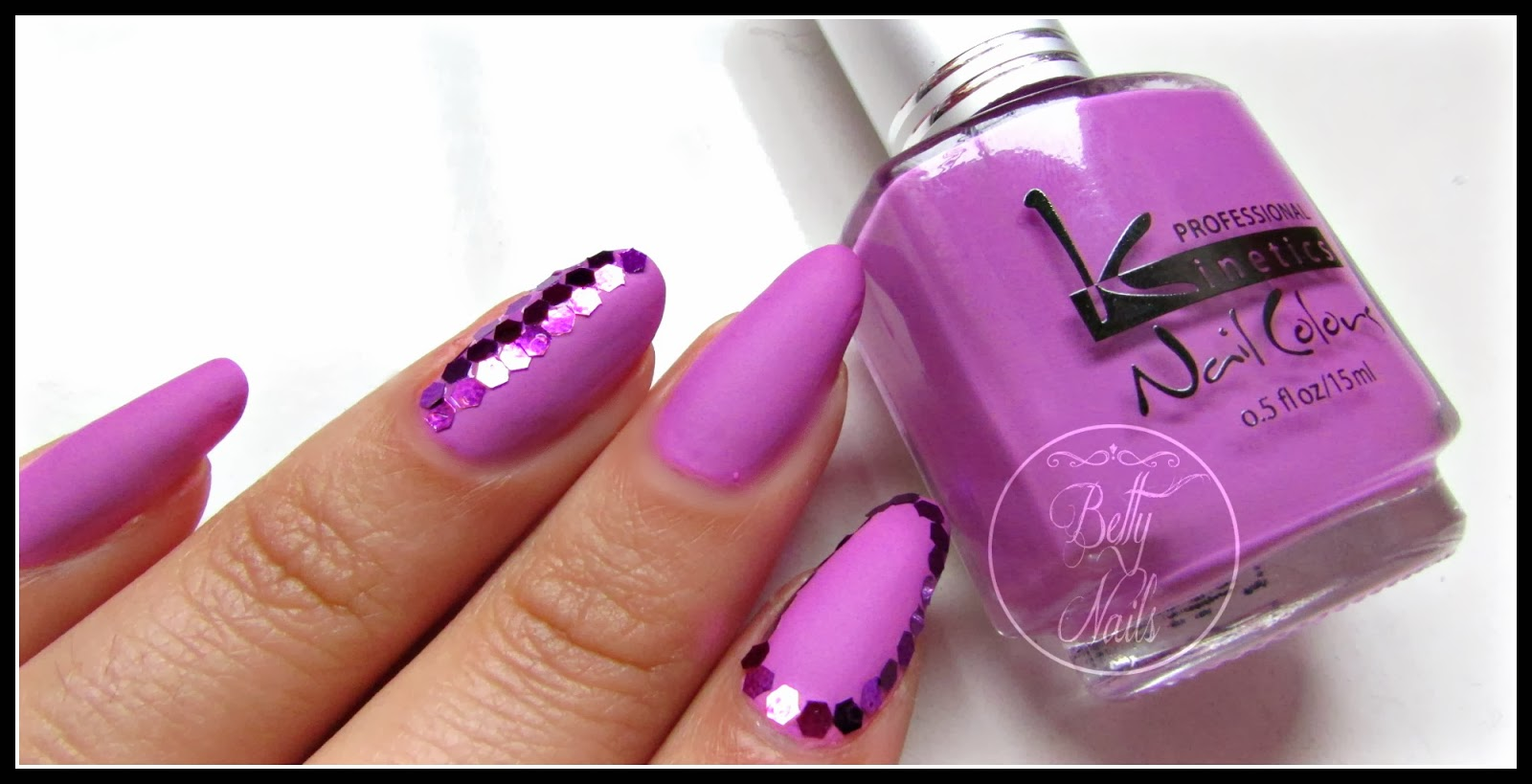 violet purple polish~
