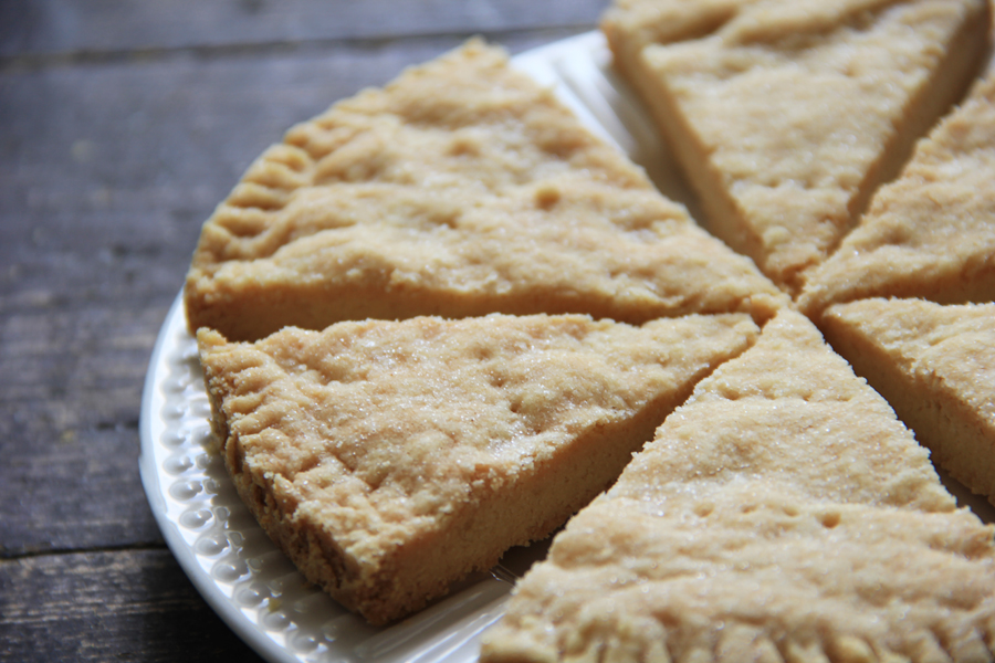 mbakes: Traditional Petticoat Tail Shortbread