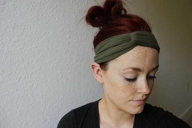 どんな髪型でも使える☆便利な手作りツイストヘアバンドを作ろう♪