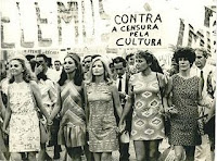 Mulheres na Marcha dos Cem Mil