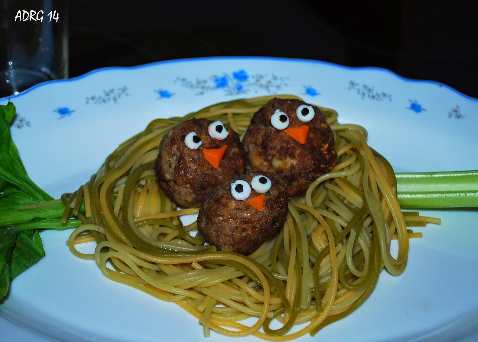 Territorio ap trida al rico nido de espaguetis for Espaguetis para dos