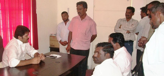 CH Sekar meets people in his constituency offices every weeke