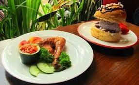 Ayam dan Burger