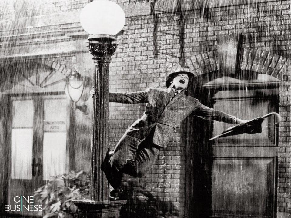 #TBT Cantando na Chuva