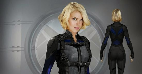 Cleveland854321: ADRIANNE PALICKI HELPS AGENT PHIL COULSON