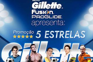 Promoção 5 Estrelas - Gillette