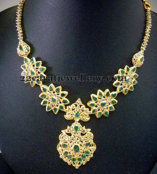 Emerald Set with Chakri Diamonds